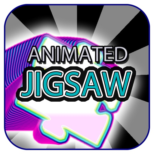 """Animated Jigsaw Art Elements (Expressionist Style) """"FREE"""" iOS App"""