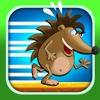 A Sonic Tunnel Maze FREE - Super Fast Rail Runner