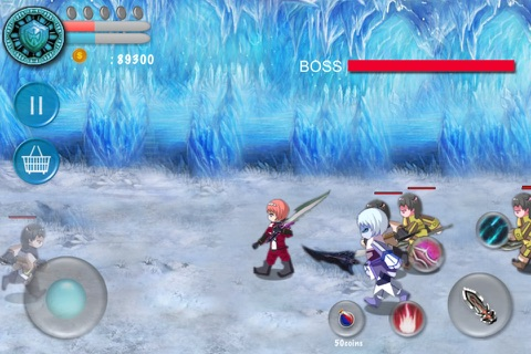 ARPG Monster & Warrior Deluxe screenshot 1