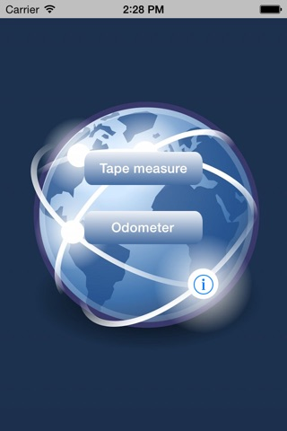 GPS MegaTape - Tape Measure screenshot 1