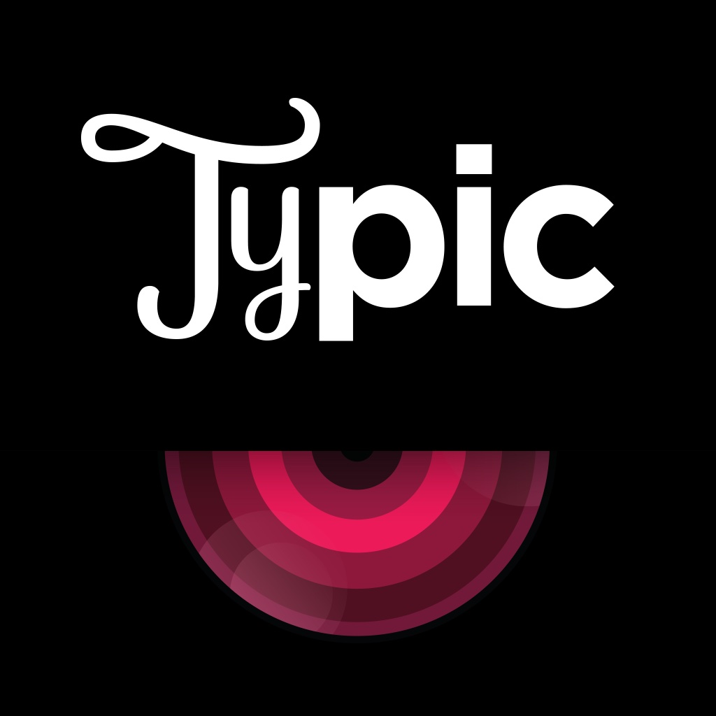 Typic Typography Creative Quotes Photo Editor App Profile