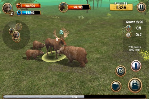 Wild Bear Simulator 3D screenshot 3
