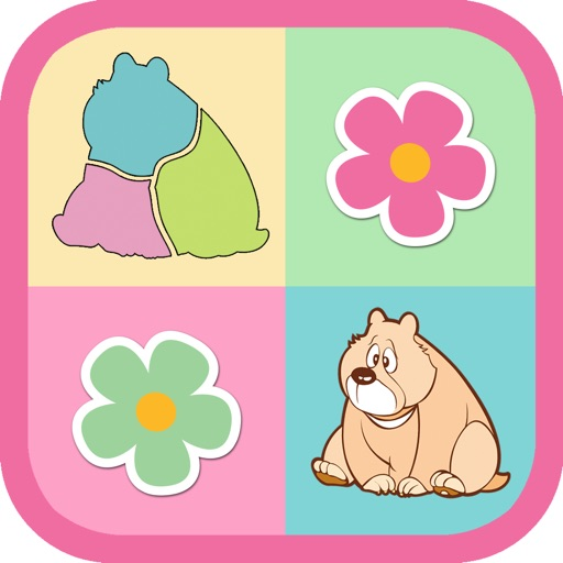 Animal Puzzles - For Kids iOS App
