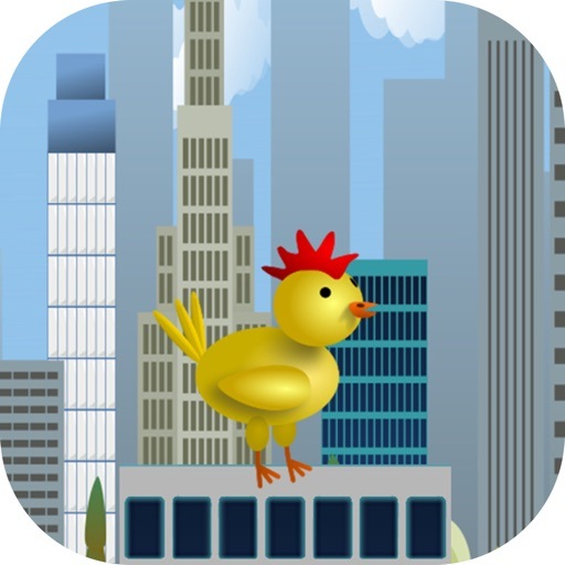 Chicken Hero Rooftop Run iOS App