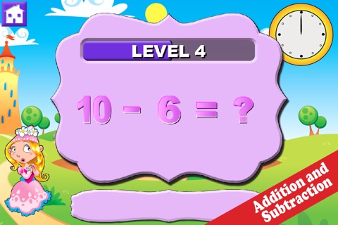 Wee Princess Math screenshot 3
