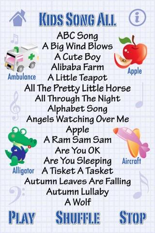 Kids Song All - 220 Songs screenshot 2