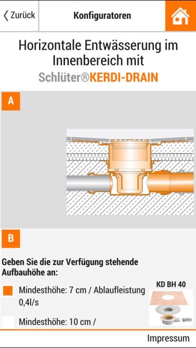 Screenshot von Schlüter-Systems3