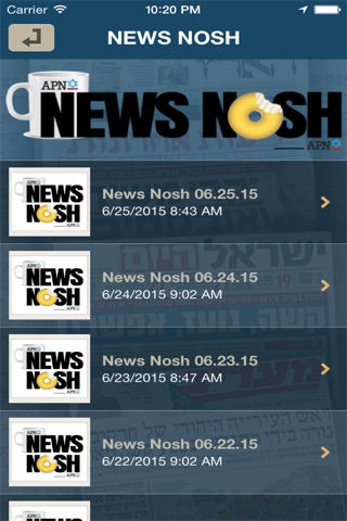 News Nosh screenshot 2