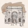 Милан Дуомо. Аудиогид с альбомом фотографий маршрута и картой города