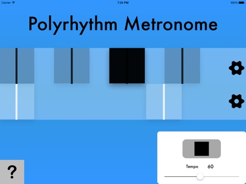 Polyrhythm Metronome screenshot 2