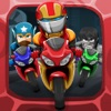 Comic Superhero Con-man Biker – Super Stunt of Steel Hero 2 Free Games