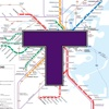 MBTA Boston T Map -- Ad Free icon