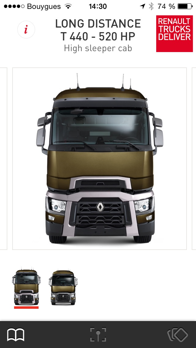 The Range by Renault TrucksCapture d'écran de 2