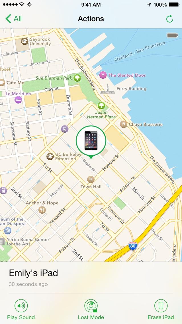 Find My iPhone Screenshot 2
