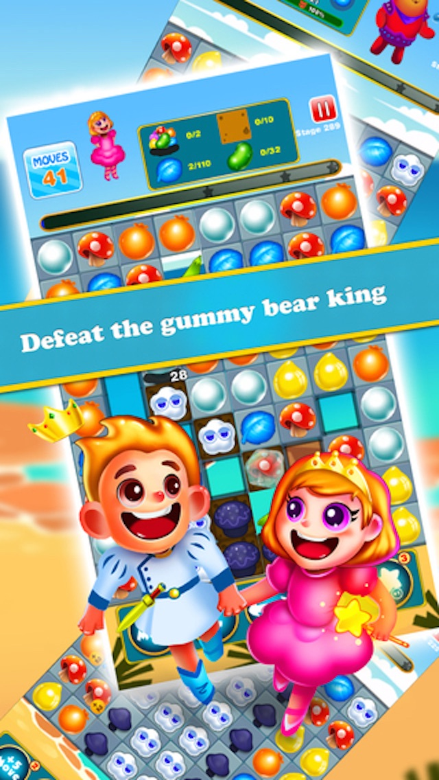 Fruit Charm Mania - 3 match puzzle jelly boom game App