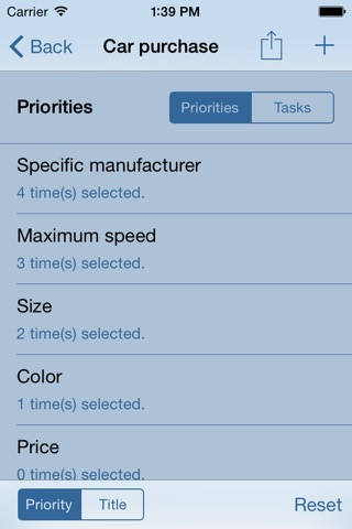 Priorities App - Order your Priorities and Tasks screenshot 3