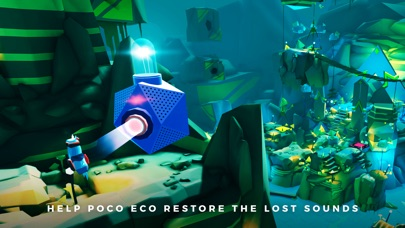 Adventures of Poco Eco - Lost Sounds: Experience Music and Animation Art in an Indie Game screenshot two