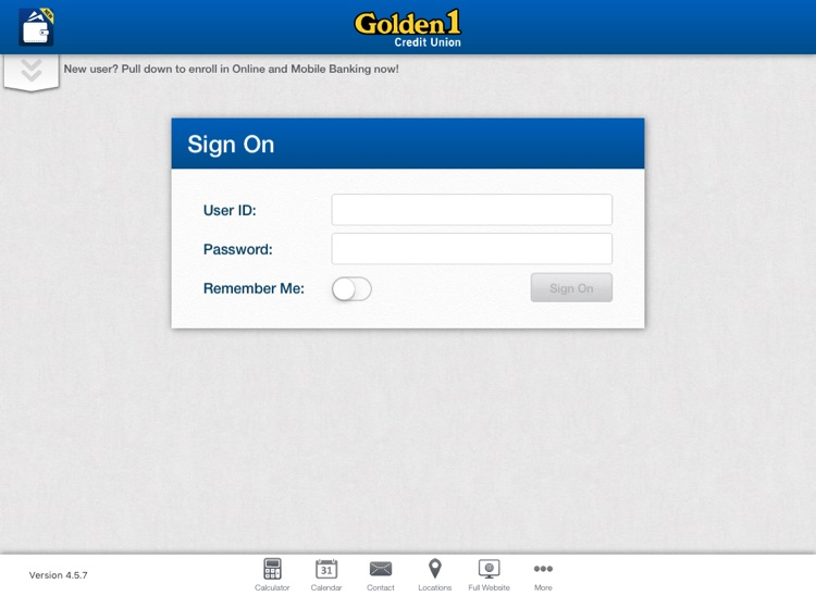 Golden 1 Mobile for iPad by Golden 1 Credit Union