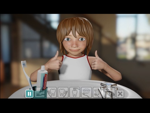 Screenshot #6 pour Brwsio Dannedd Dim Dŵr / Brushing Teeth No Water