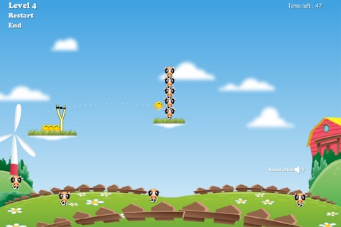 Happy Cow Tipping Game screenshot 3