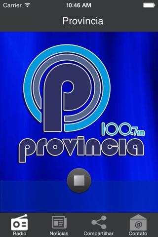 Rádio Província Fm 100.7 screenshot 2