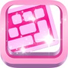 PinkKey: colorful pink predictive keyboard with autocorrect, autocomplete and prediction