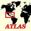 mapQWIK ZA - Zentralamerika (und der Karibik) Zoomable Atlas