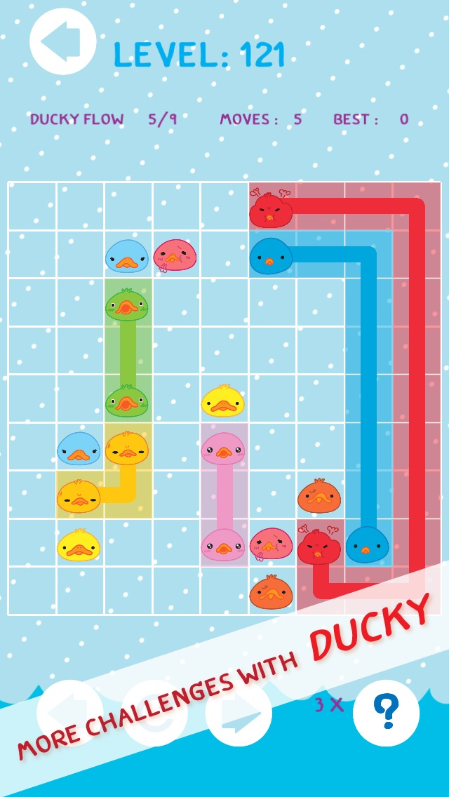 Ace of Duck Amuck Faces - Ducky Match and Link Fun Flow PRO-1
