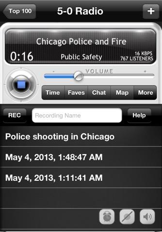5-0 Radio Police Scanner screenshot 4