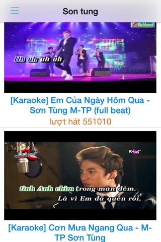 Hat Karaoke Tren Dien Thoai screenshot 1