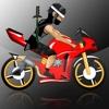 Crazy Ninja Bike Race Madness Pro - best road racing arcade game