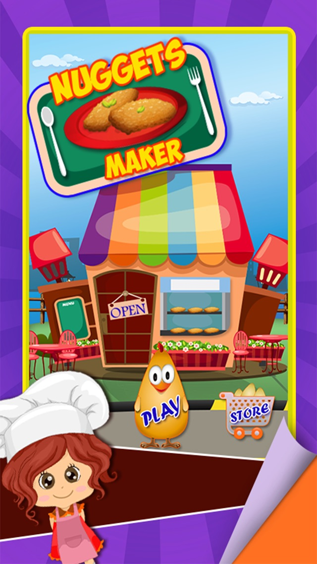 download Nuggets Maker – Preschool fast food cooking game and free fried chicken invaders appstore review