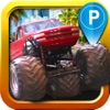 Monster Truck Parking Simulator - 3D Car Bus Driving & Racing Games