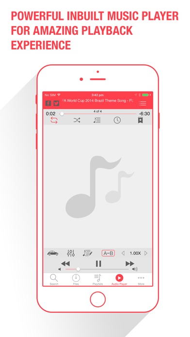 download Music Dropper - Free Music Player for Cloud Drives apps 3