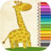 Pintar animales: Juegos de niños para colorear con rotulador mágico