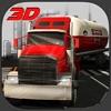 石油輸送トラックシミュレータ3D - 重油タンカーをドライブ&ガソリンスタンドにそれを運ぶ