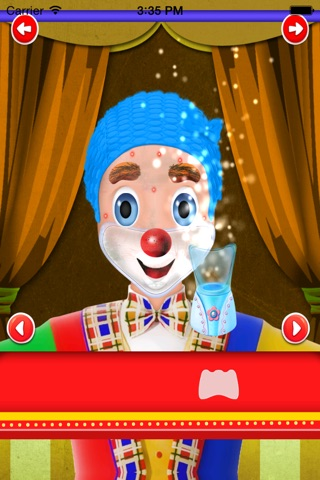 clown makeover salon screenshot 2
