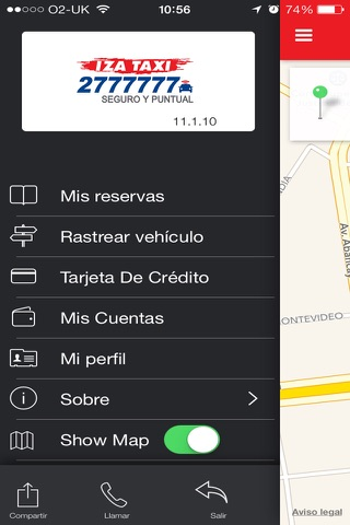 IZA TAXI 2777777 screenshot 1