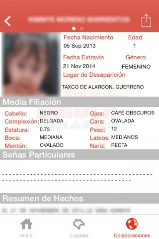 Alerta AMBER Chiapas screenshot 2