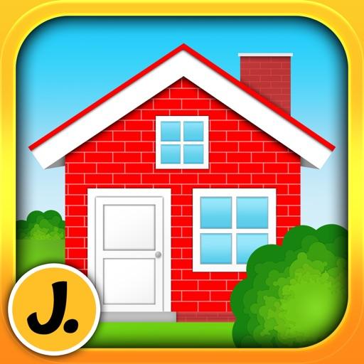 Little House Decorator - creative play for girls, boys and whole family iOS App