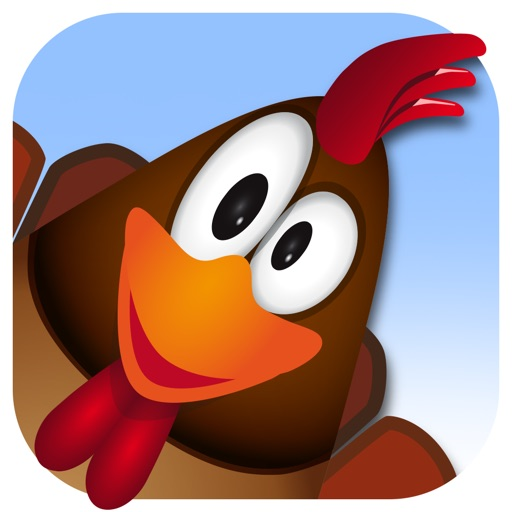 Fun to fly to the top with this new epic farm game so play cool and tap the most crazy chicken eggs for free iOS App