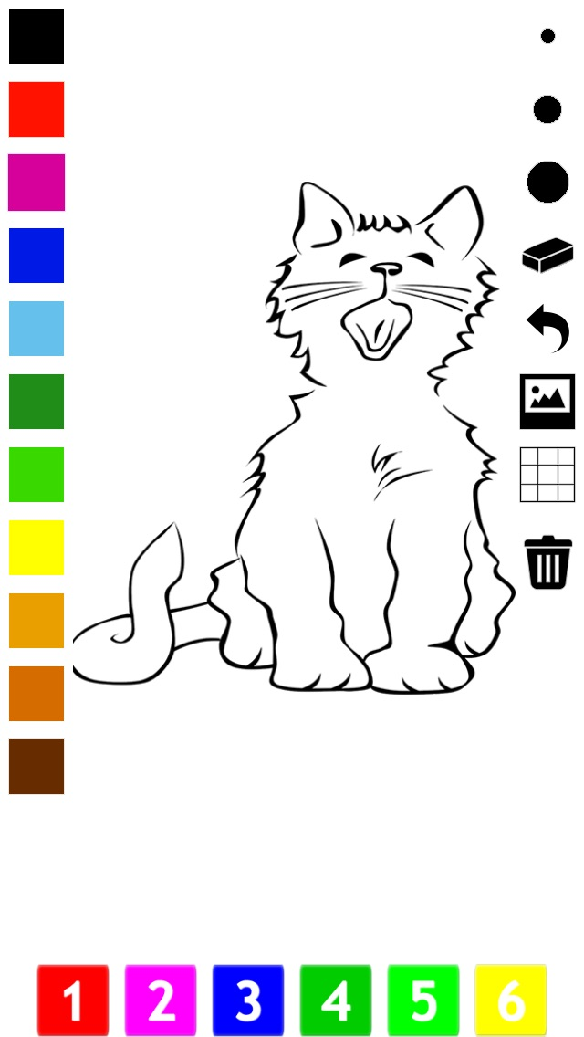 download A Coloring Book for Little Children: Learn to draw and color cat and kittens apps 2
