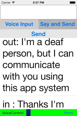 Deaf Hearing Chat screenshot 2