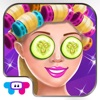 College Chic Makeover - Spa & Salon Day: Dress Up, Make Up, Photo Fun & Card Maker