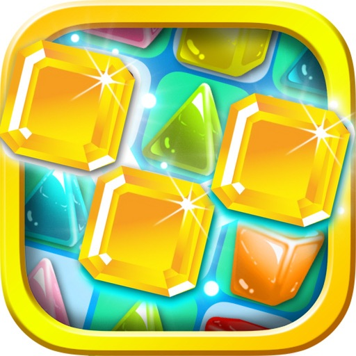 Jewel Mania Planet - Free Match Puzzle Games for Kids iOS App
