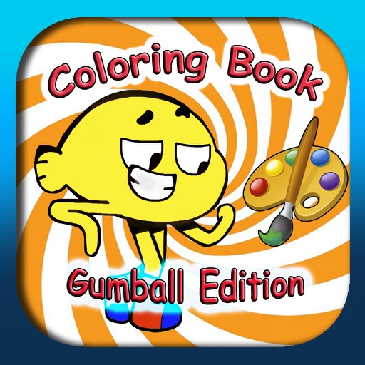 Coloring Book for Amazing Gumball (unofficial) iOS App