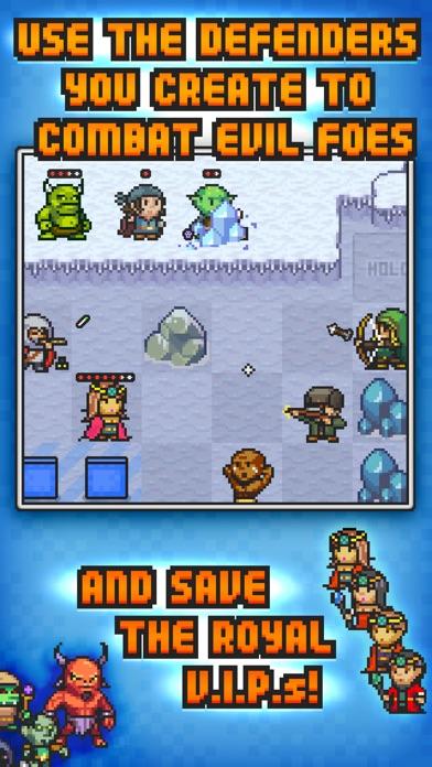 Pixel Defenders Puzzle Screenshot
