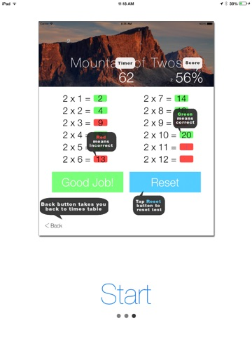 Times Tables - Learning screenshot 2