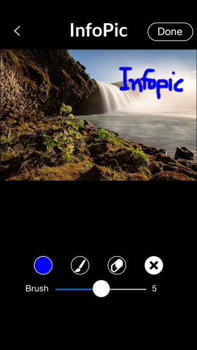 download InfoPic - Generate and email PDF documents of photos with comments. apps 0