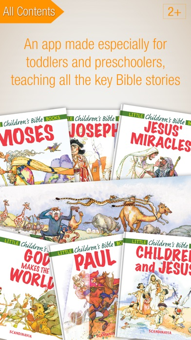 download Kids Bible Premium - Complete Edition with 24 Bible Story Books and Audiobooks for Preschoolers apps 1